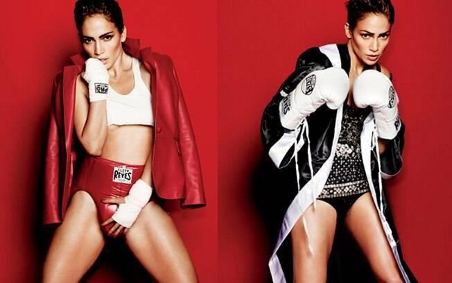 Jennifer Lopez falou à publicação sobre o relacionamento com o seu marido