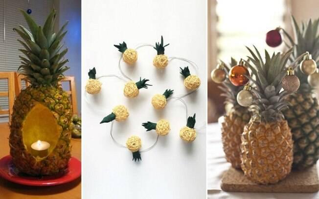 De acordo com um levantamento feito pelo Pinterest, abacaxis natalinos estão se tornando uma tendência cada vez maior