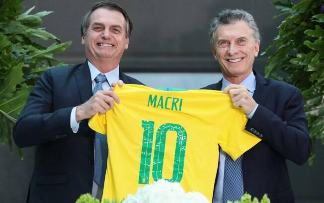 Bolsonaro e Macri