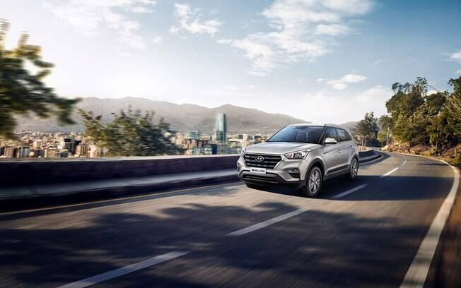 Hyundai Creta supera rival Honda HR-V entre os SUVs compactos em agosto. Está entre os carros mais vendidos do País