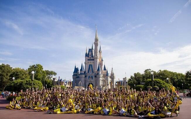 Entre os destinos mais populares estão os parques da Disney
