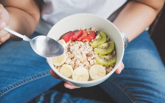 frutas e cereais