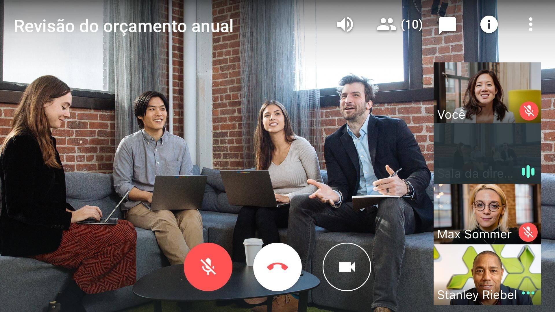 Está fazendo home office? Google libera Hangouts Meet - Tecnologia ...
