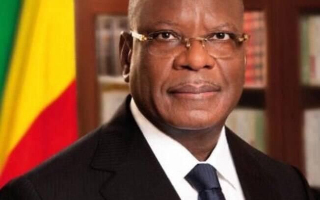 Ibrahim Boubacar Keita, presidente do Mali.
