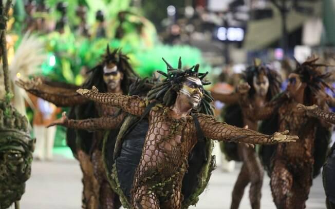 Desfile da Beija-Flor. Foto: Fernando Maia/ Riotur