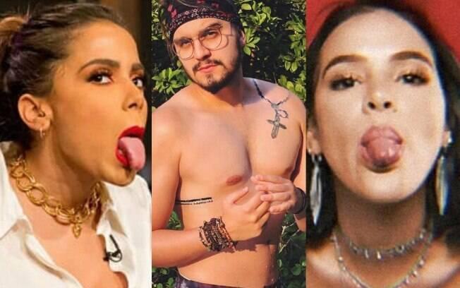 Luan Santana dá entrevista para Leo Dias e revela affair com Anitta e Bruna Marquezine