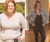 Mulher perde mais de 40 kg sem ir para academia