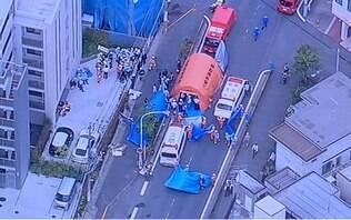 Homem esfaqueia ao menos 15 pessoas, incluindo crianças, no Japão