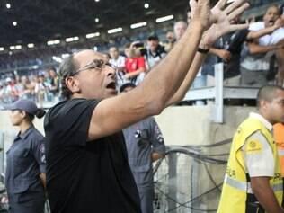 Esportes -  Belo Horizonte, Mg. Final do Campeonato Mineiro. Atletico-MG X Cruzeiro. Jogo de volta da final do Campeonato Mineiro, no estadio Mineirao. Fotos: Leo Fontes  / O Tempo - 13.4.14