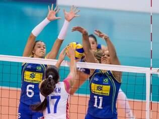 Brasil mostrou poder de recuperação após perder os dois primeiros sets