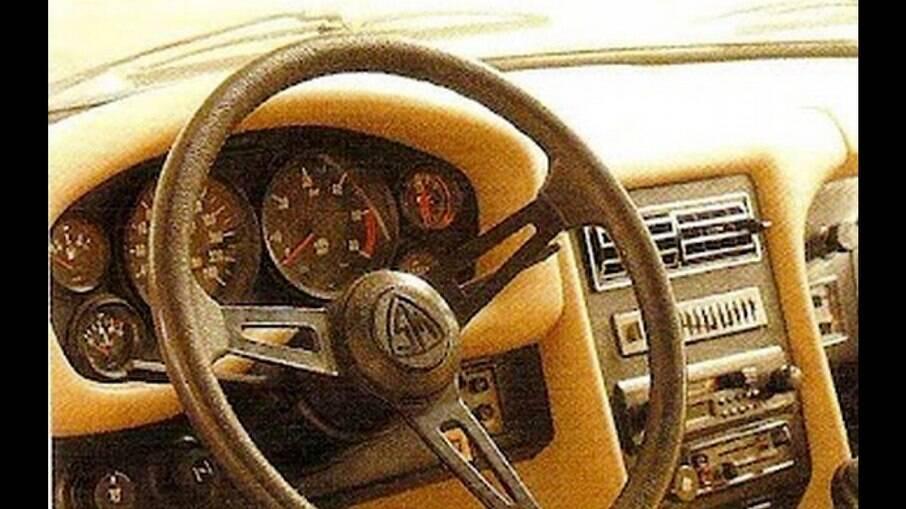 Interior do Santa Matilde vinha com pelas do Opala e de outros modelos, como as saídas de ar da linha Volkswagen