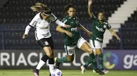 Palmeiras e Corinthians empatam no Brasileirão