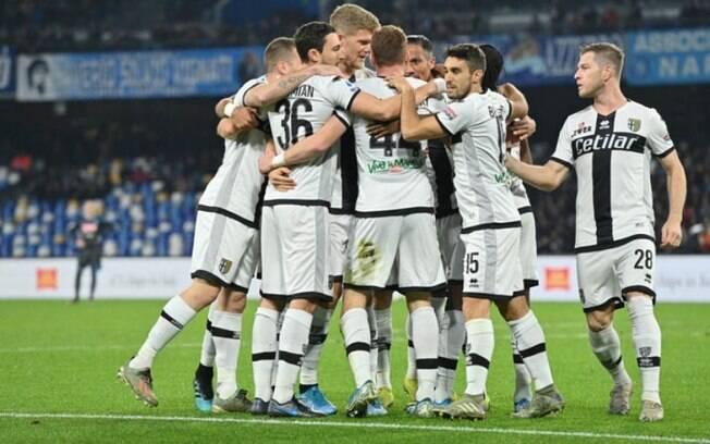 Parma entra em campo neste sábado