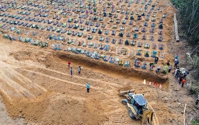 Situação funerária de Manaus é uma das mais preocupantes do país