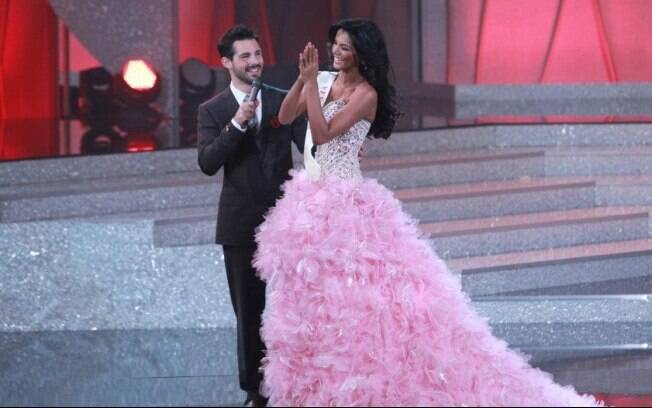Miss Venezuela com Jason Cook