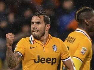 Tevez deixou a sua marca em mais uma vitória da Juventus no Campeonato Italiano