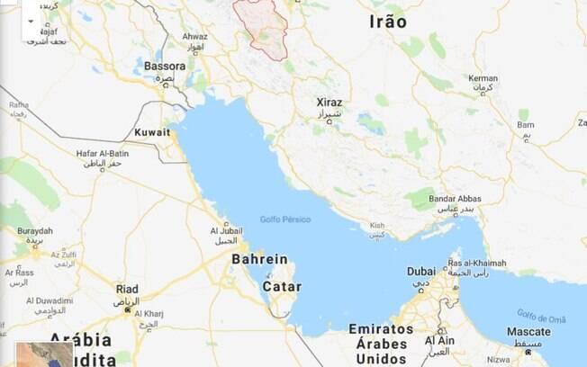 Aeronave caiu na província de Chahar Mahaal e Bakhtiari, no sudoeste do Irã, neste domingo