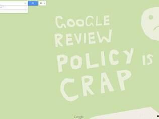 Google pediu desculpas pelo Android urinando no logo da Apple e colocou uma frase no Maps dizendo