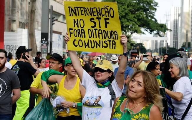 Manifestação em prol do governo Bolsonaro tem vídeo de convocação