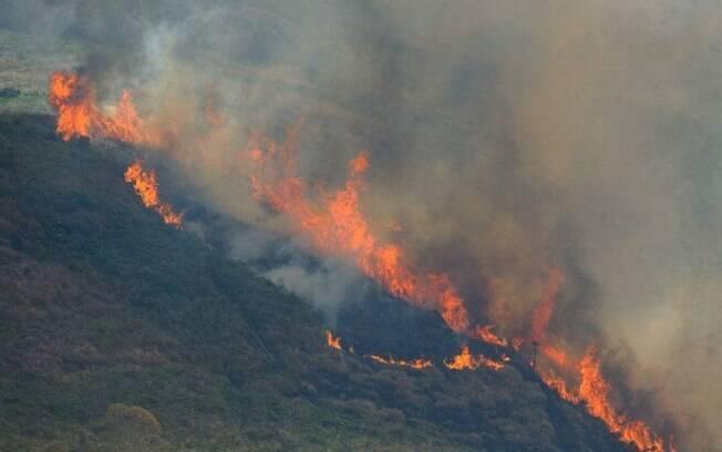 Recentemente, o Inpe divulgou que número de queimadas cresceu em 28% na Amazônia em julho.
