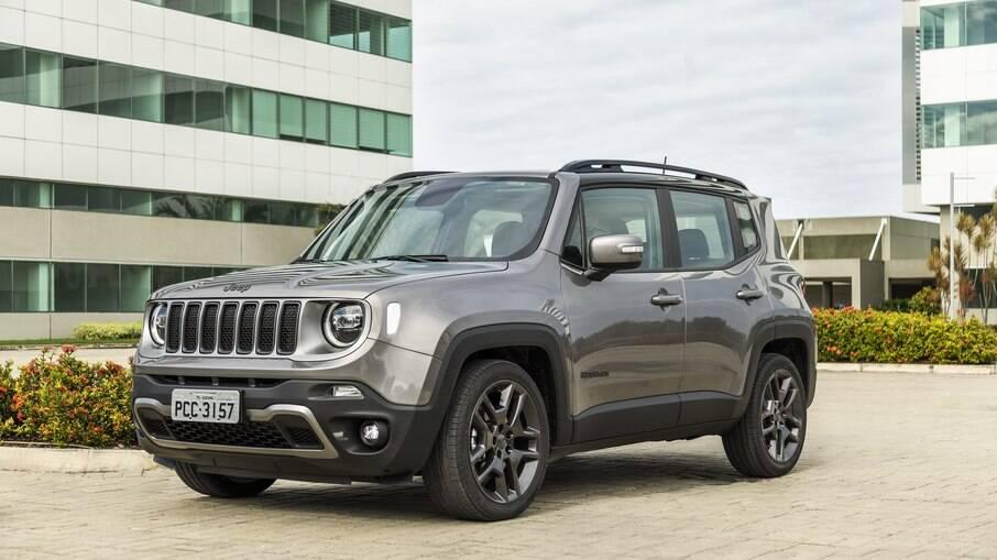 Jeep Renegade  tem mostrado bom desempenho nas vendas, mas com 6,31% de desvalorização, segundo a KBB Brasil
