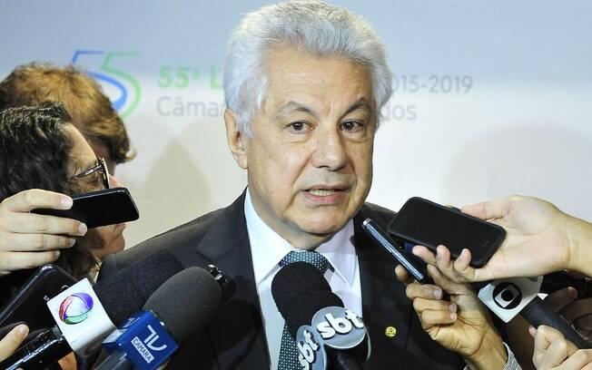 Deputado Arlindo Chinaglia (SP) é indicado do PT para a comissão do impeachment.. Foto: Luis Macedo / Câmara dos Deputados - 31.01.15