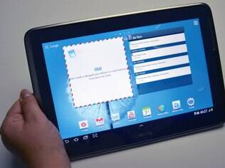 Galaxy Note 10.1 é o único modelo de tablet desta linha da Samsung