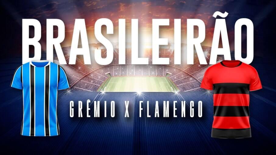 Grêmio e Flamengo fazem jogo que vale muito nesta quinta-feira (28)