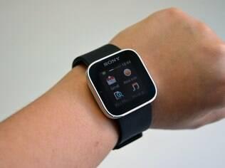 Smartwatch da Sony é compatível com celulares Xperia