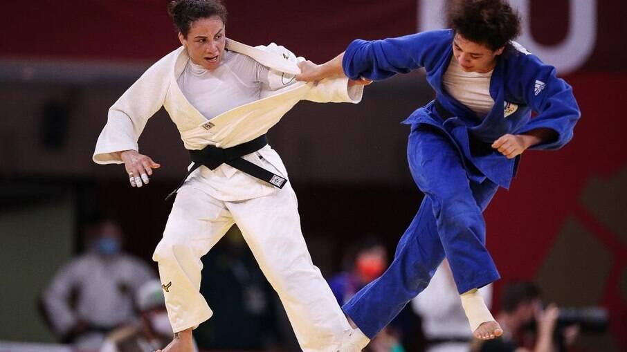 Maria Portela acabou sendo derrotada pela russa Medina Taimazova