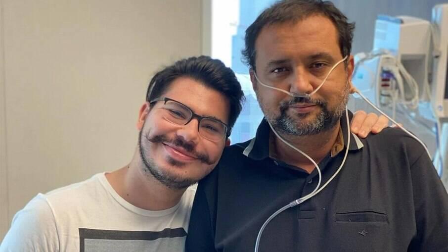 Geraldo Luís recebe alta da UTI