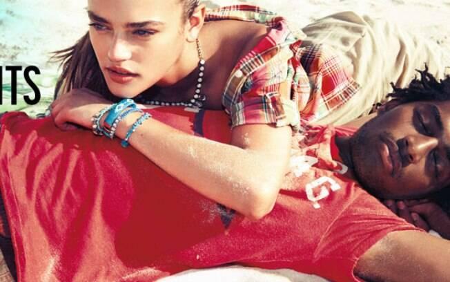 Thiago Santos é o modelo brasileiro que estrelou o maior outdoor de Nova York