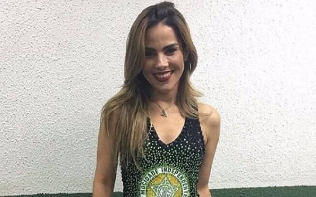 'A Mocidade é minha escola do coração', diz Wanessa Camargo