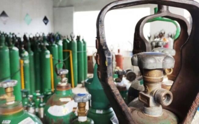 Covid: Unicamp empresta 16 cilindros de oxigênio ao governo de SP