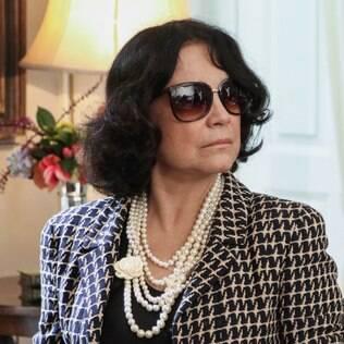 Regina Duarte como Maria Joaquina em 'Império'