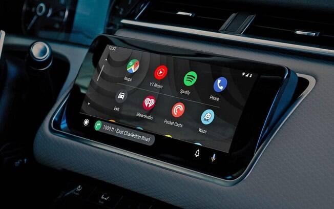 Android Auto atualizado deverá poder ser usado mesmo com o celular bloqueado nas centrais com pareamento sem fio