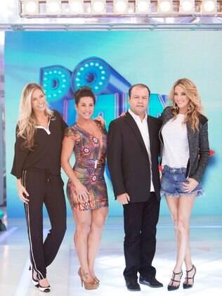 Adriane Galisteu não ganhou dinheiro na gravação do programa