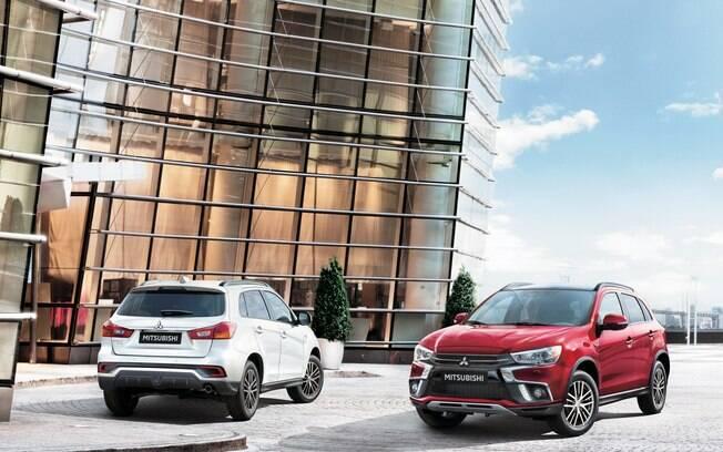 Mitsubishi ASX 2019:  novas luzes de LED e refletores nos para-choques traseiros entre as novidades do SUV