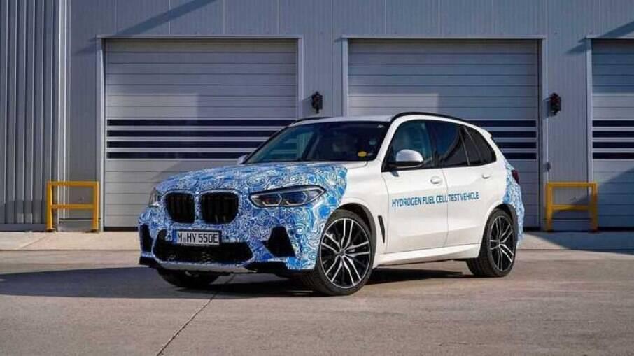 BMW i Hydrogen Next ainda está na fase de protótipo, mas seu sistema logo passará a ser produzido em série