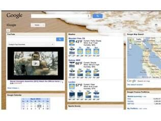 Parceria com iStockphoto rendeu novos temas ao iGoogle