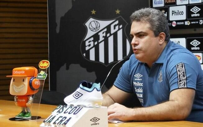 Orlando Rollo, presidente do Santos