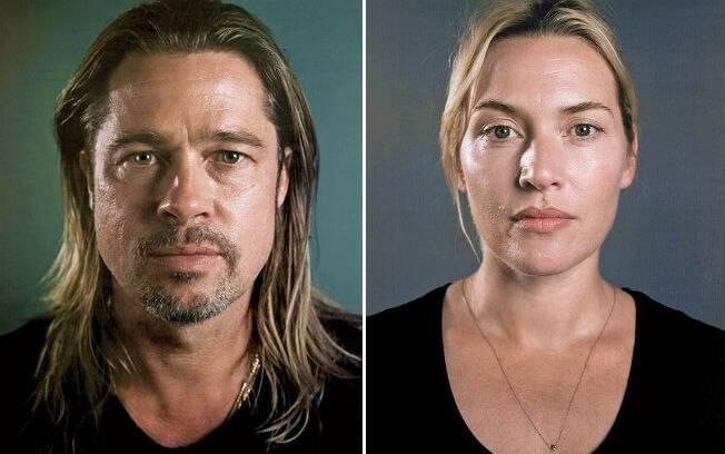 Brad Pitt e Kate Winslet
