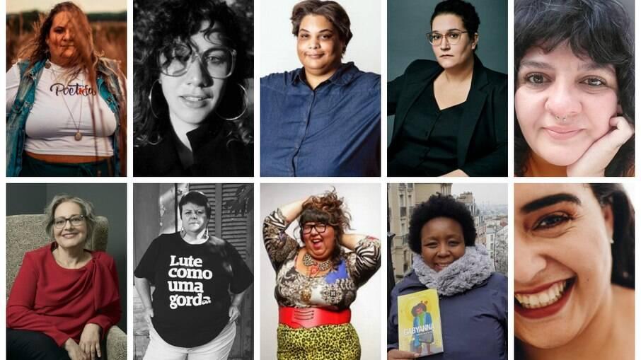 Autoras da seleção: Jéssica Balbino, Mariana Salomão Carrara, Roxane Gay, Carmem Maria Machado, Agnes Arruda, Isabela Figueiredo, Malu Jimenez, Virgie Tovar, Gabriela Rocha e Lorena Otero