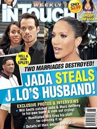 Revista afirma que o pivô da separaçao de Will e sua esposa é Marc Anthony, ex de Jennifer Lopez