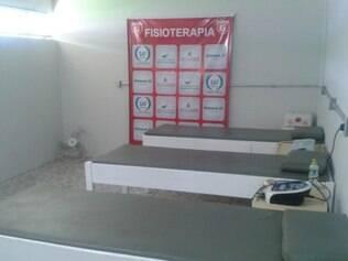 Uma sala maior do Farião foi disponibilizada para receber a clínica