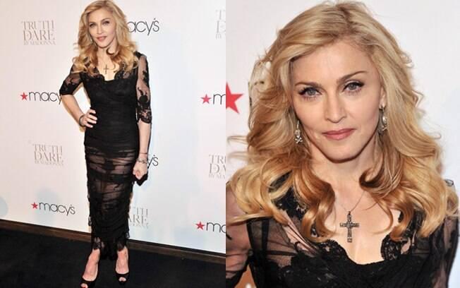 Madonna lançou sua primeira fragrância na noite dessa quinta-feira (12)