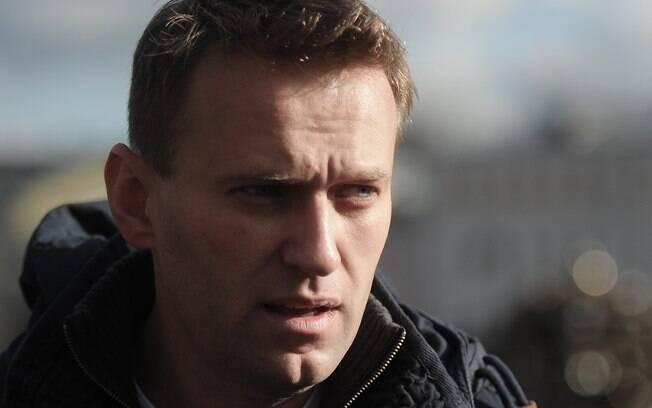 O principal líder da oposição da Rússia, Alexei Navalny, foi preso neste domingo (28), no centro de Moscou