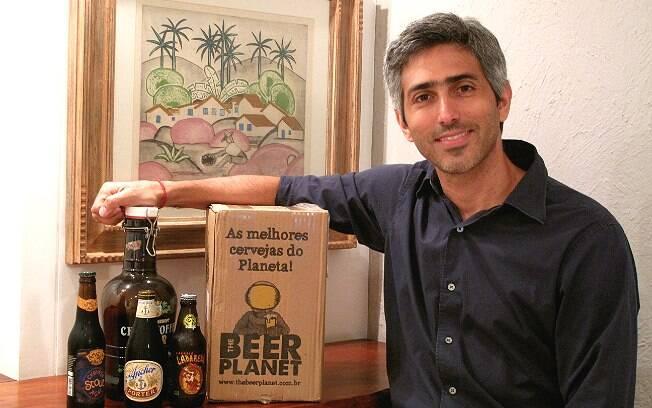 Clube ajuda a explorar o mundo das cervejas especiais, diz Eduardo Caldas, do The Beer Planet Club