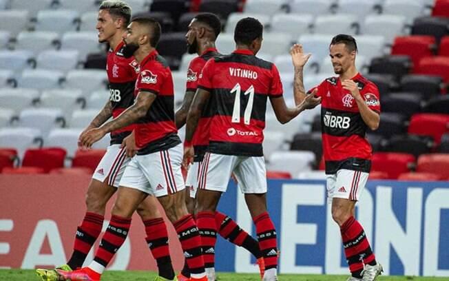 Rotina de títulos! Flamengo bate o Volta Redonda com gols de Michael e Vitinho e leva a Taça Guanabara