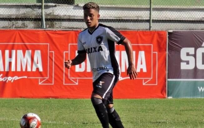 Ramonzinho em ação pelo Botafogo